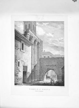 Select Views Of The Roman Antiquities; From Original Drawings Made Upon The Spot & Drawn upon Stone by T.M. Baynes
