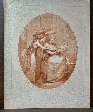 Two Ladies. Charles R. A. Ansell, 1752- ?