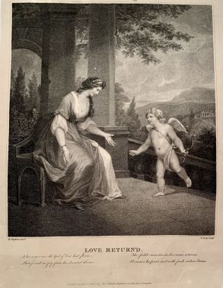 Love Returned. Henry Singleton, 19 October 1766 – 15 September 1839