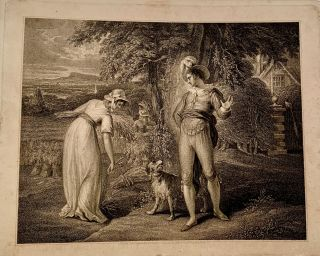 The Act Directs. 18th Century Print