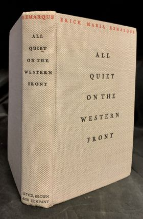 All Quiet On The Western Front; Translated from the German by A.W. Wheen