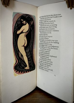 Against Women A Satire translated from the old Welsh; Engravings by John Petts