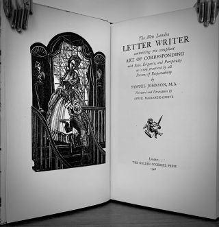 The New London Letter Writer containing the compleat Art Of Corresponding with Ease, Elegance, and Perspicuity as is now practised by all Persons of Respectability