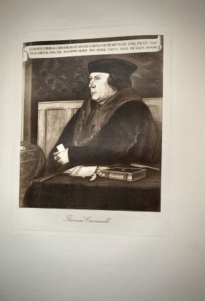 The Life And Death Of Cardinal Wolsey; Illustrated With Portraits By Holbein