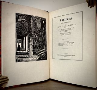 Zastrozzi A Romance; With An Introduction by Phyllis Hartnoll And Engravings by Cecil Keeling