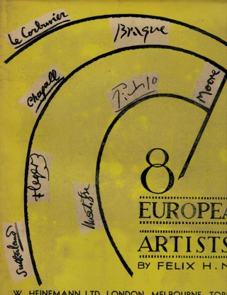 Eight European Artists. Felix H. Man