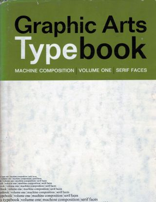 Graphic Arts Typebook. Inc Graphic Arts Typographers